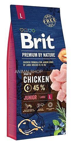 מזון יבש לכלב 15 קג בריט גוניור