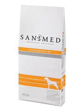 מזון כלבים טיפולי SANIMED היפואלרגני DR