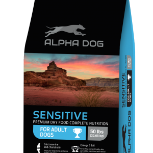 מזון כלבים אלפא דוג ALPHA DOG סנסיטיב - דגים